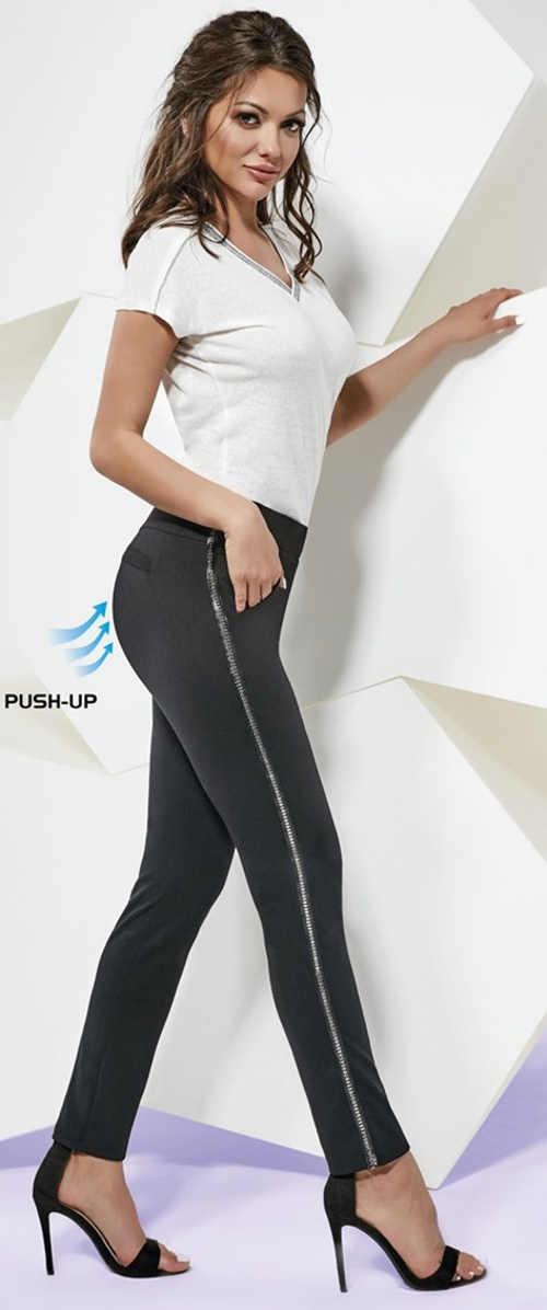 Czarne legginsy modelujące push up Basbleu Rachel