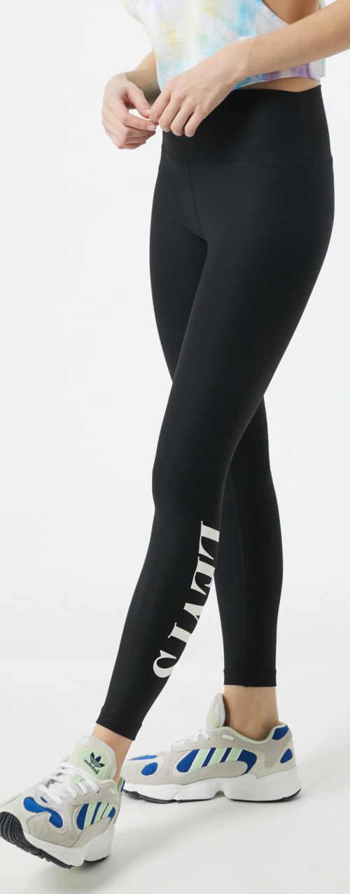 Długie czarne legginsy damskie Levi's