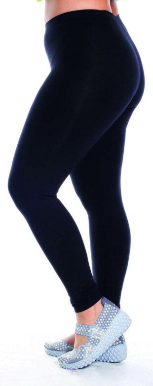 Długie legginsy sportowe typu oversize