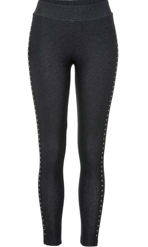 Legginsy z długimi spodniami o wyglądzie dżinsu