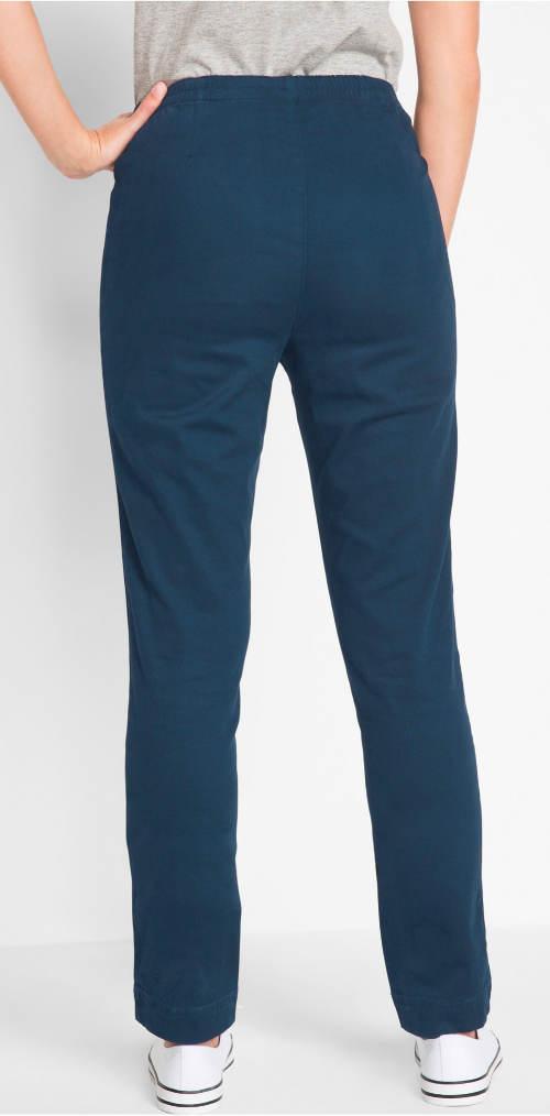 Niebieskie legginsy dla większego tyłka
