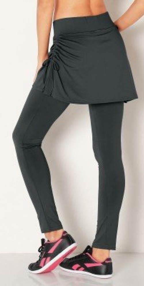 Spódnico-legginsy zakrywające tyłek