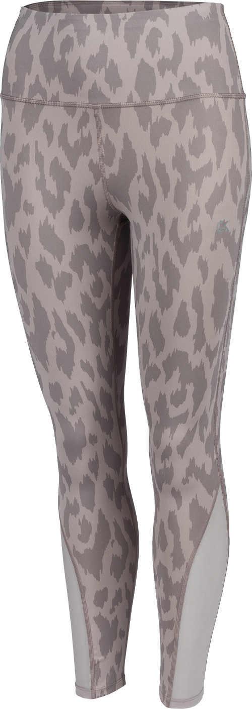 Szare legginsy damskie w kamuflażu Calvin Klein TIGHT