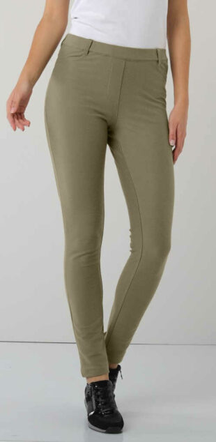 Wyszczuplające legginsy Elastyczne spodnie dla puszystych