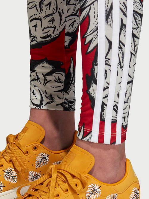 Kolorowe legginsy sportowe Adidas