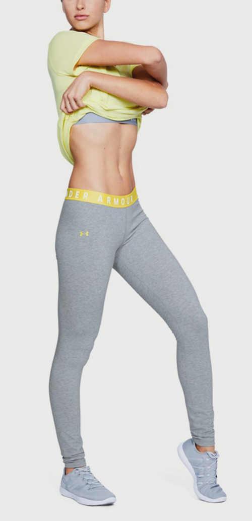 Sportowe legginsy odprowadzające wilgoć z ciała
