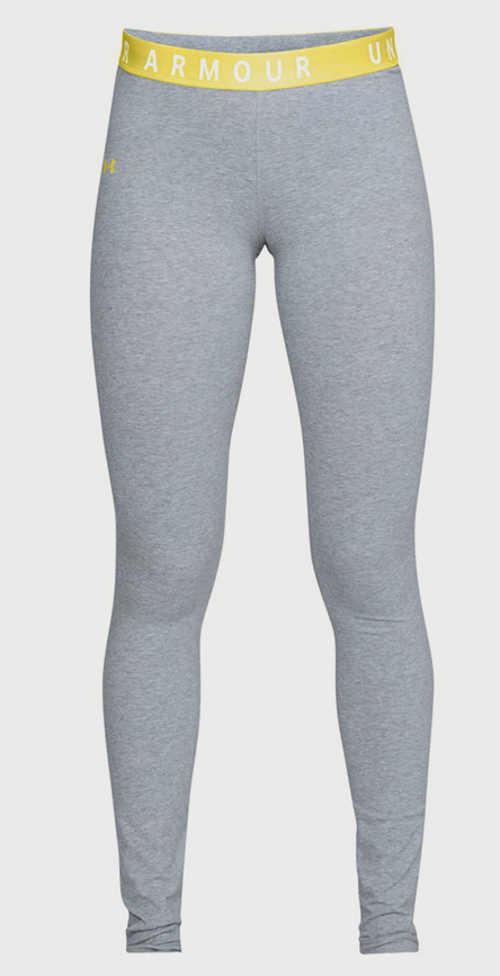 Sportowe legginsy z gumką w pasie