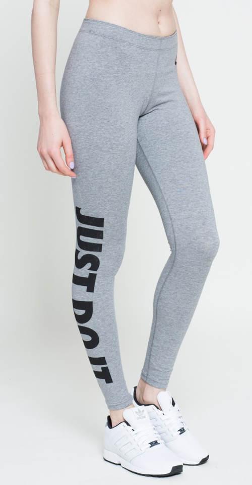 Szare legginsy Nike Just do it