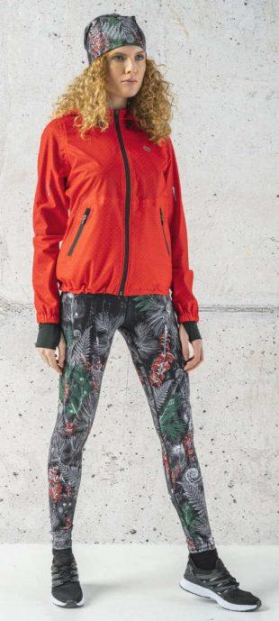 Ocieplane legginsy z wysokim stanem do uprawiania sportów w niskich temperaturach