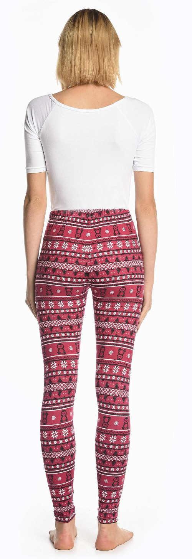 Tanie świąteczne legginsy damskie