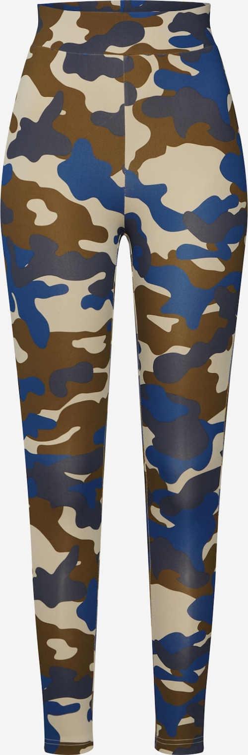 Uniwersalne legginsy w kamuflażu